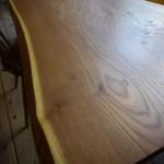 オーダー家具〜黄檗の書斎机を製作します。
