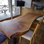 【松葉屋の一枚板テーブル】お届けに行ってきました!