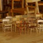 椅子展と小さな椅子展