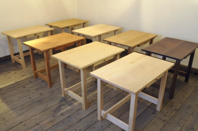 一生使える学習机ってなんだろう~自然素材だけでつくる学習机
