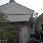 松葉屋の歴史【土蔵の屋根葺き替え】