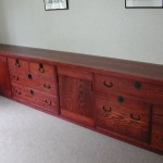オーダー家具 「古箪笥のようなTVボード」