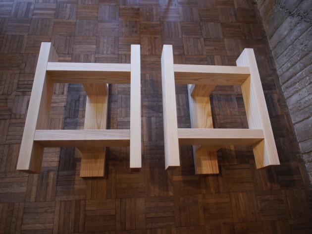 松葉屋家具店 一枚板テーブル 脚