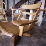 【松葉屋のオーダー家具】2人掛けの長椅子