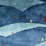 ゾランヴァリ・アートギャッベ  大地と空、火と草色のじゅうたん展