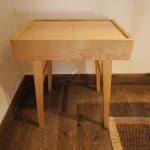 裁縫箱テーブルをつくりました