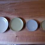 白漆のお皿 大きさいろいろ選ぶ理由