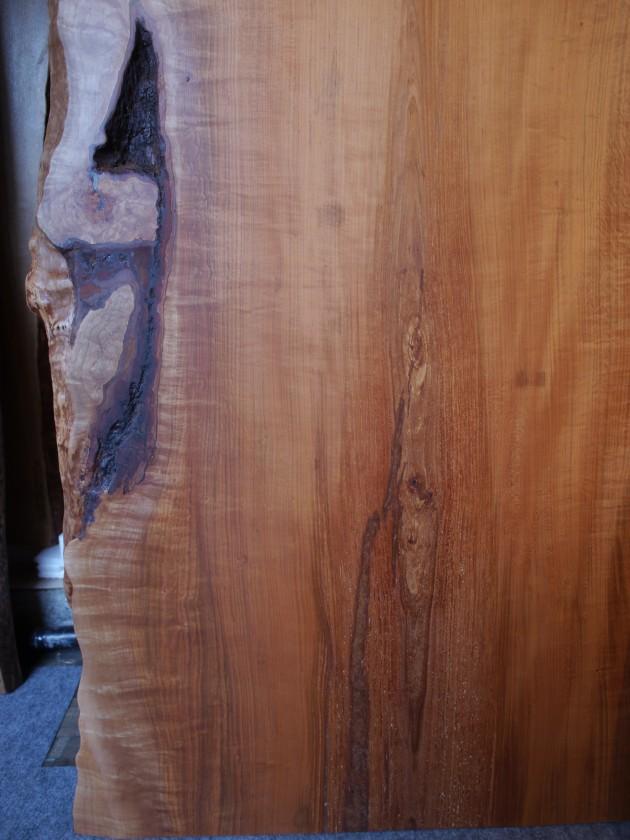 松葉屋家具店 一枚板テーブル 山桜