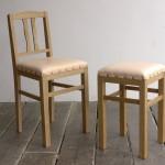 【松葉屋】鹿革の椅子のこと