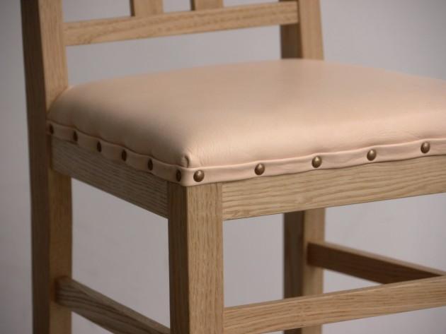 松葉屋家具店 鹿革 鹿革の椅子