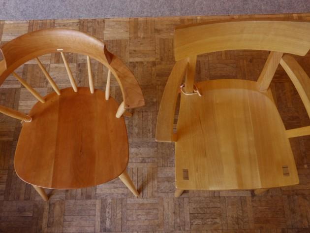 松葉屋家具店 椅子展