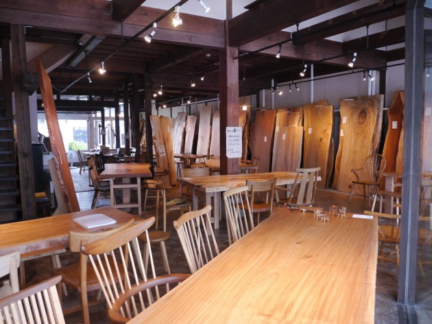2016夏 広葉樹一枚板テーブル展