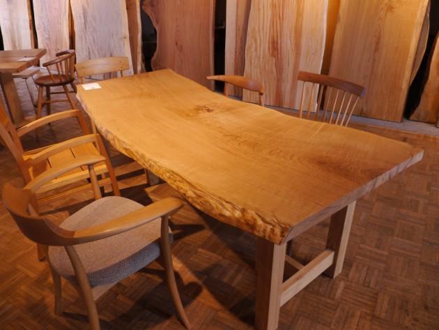 栗28-39一枚板テーブ天板