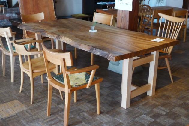一枚板テーブル楠2150