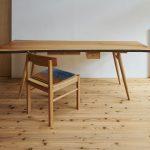 欅の一枚板でこんなデスク/テーブルを製作してみた